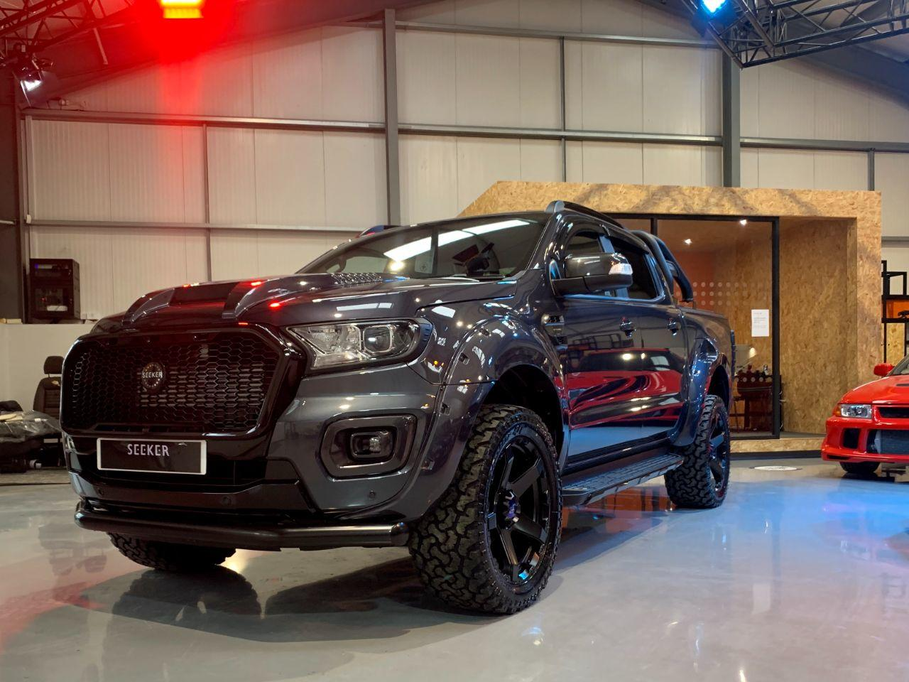 Ford Ranger Seeker Raptor RS edition  Pick Up Double Cab Wildtrak 2.0 EcoBlue 213 Auto Pick Up Diesel Grey