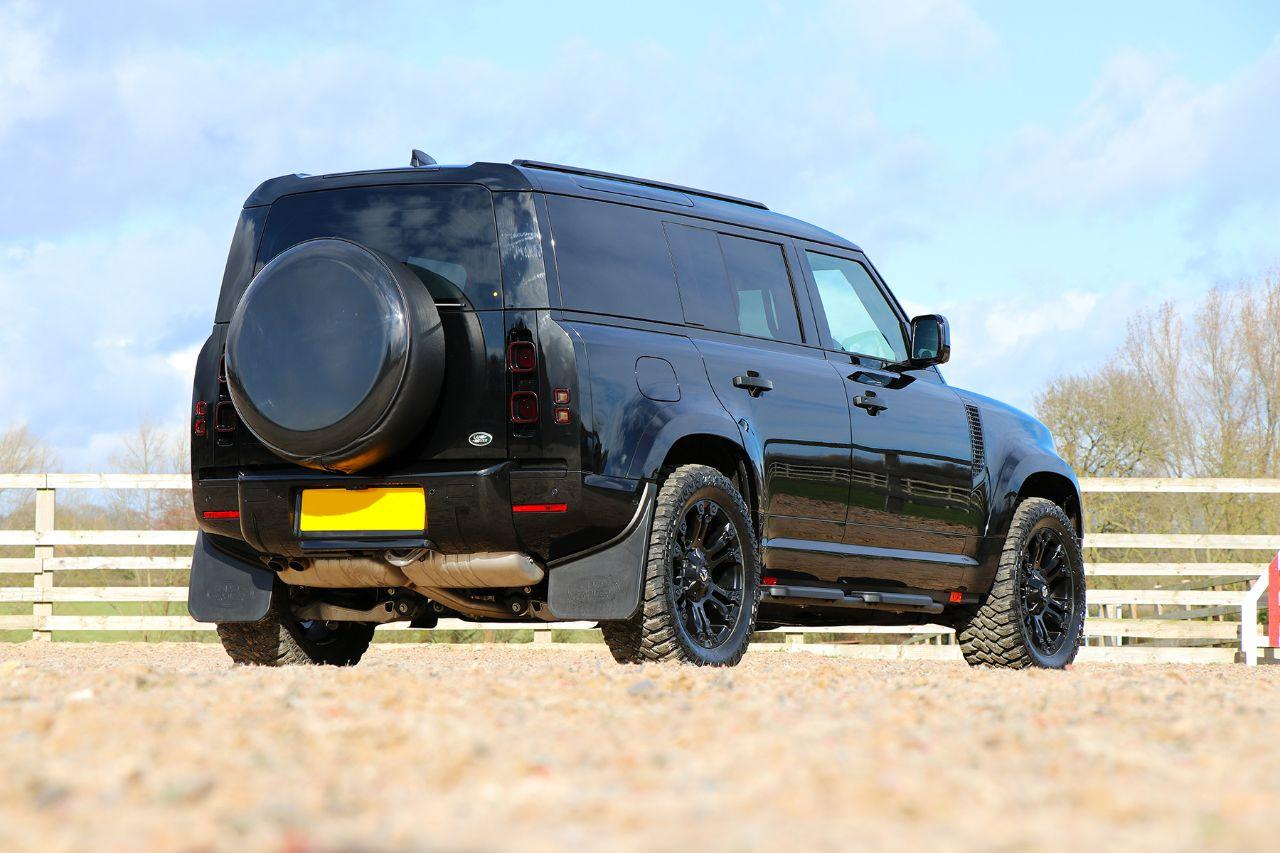 Land Rover Defender BRAND NEW New Shape 110 Commercial 3.0 D250 Hard Top Auto with SRX styling and Full Seat conversion Commercial Diesel Black