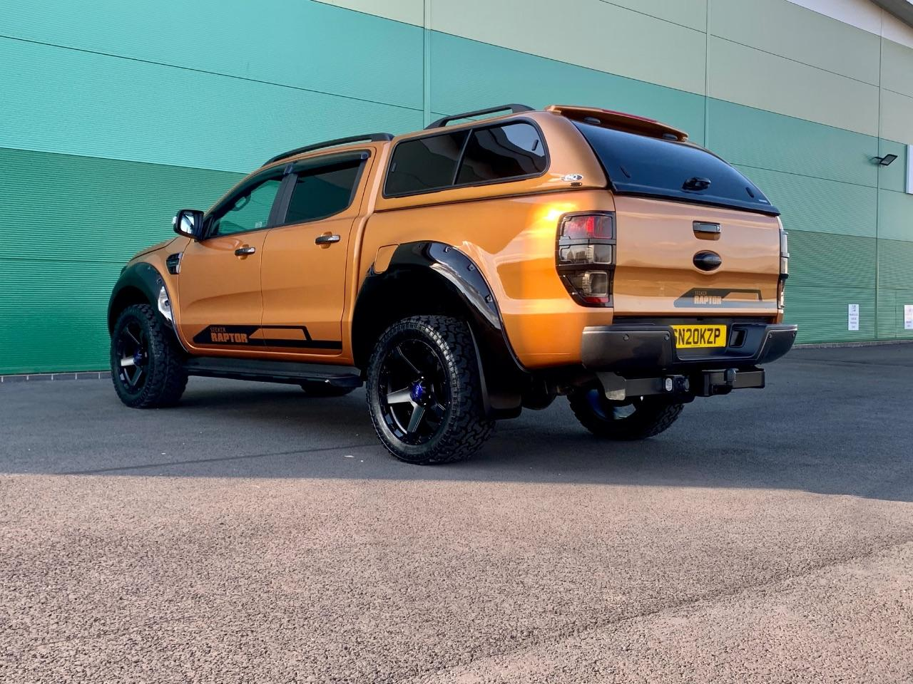 Ford Ranger Seeker raptor Pick Up Double Cab Wildtrak 2.0 EcoBlue 213 Auto 3.5 tion towing capacity Pick Up Diesel Orange