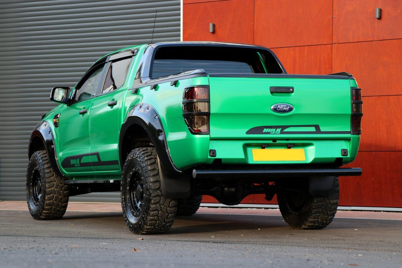 Ford Ranger 2.2 Seeker Raptor Hulk edition Pick Up Double Cab T7 with  over 8k style spend Pick Up Diesel Green Metallic Wrap