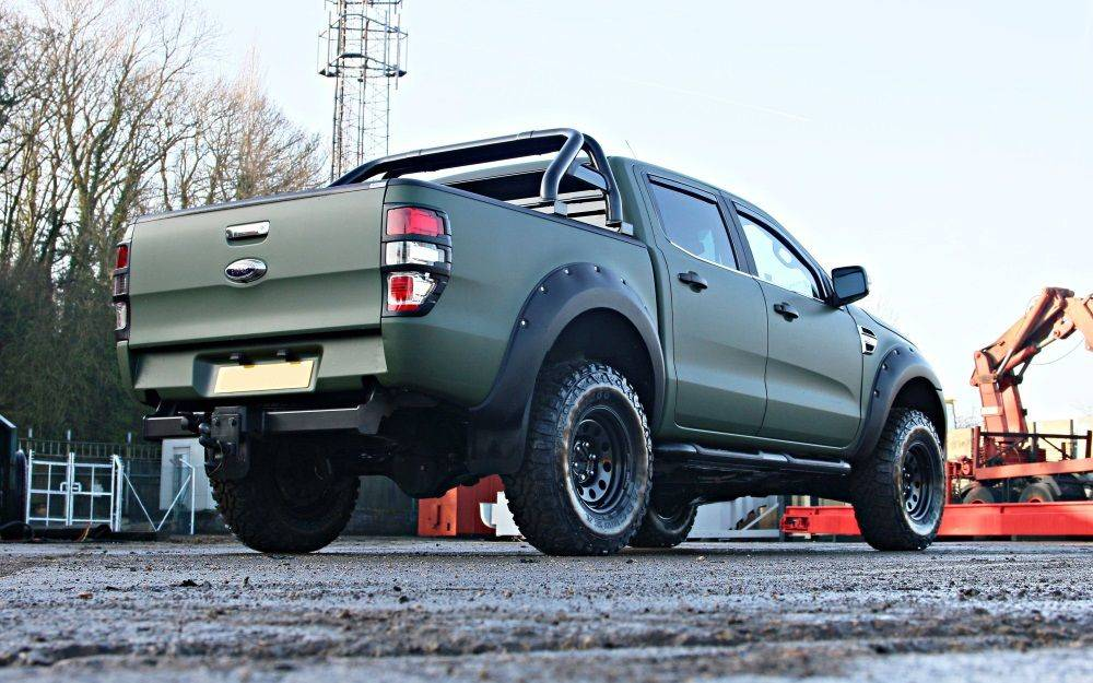 SEEKER Raptor Camo T7 Edition FORD RANGER T7 CONVERSION
