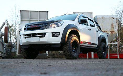 SEEKER FURY ISUZU D-MAX CONVERSION