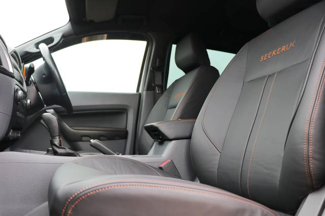 Genuine Napa Leather Seats for the Ranger Raptor EXCLUSIVE to Seeker UK.