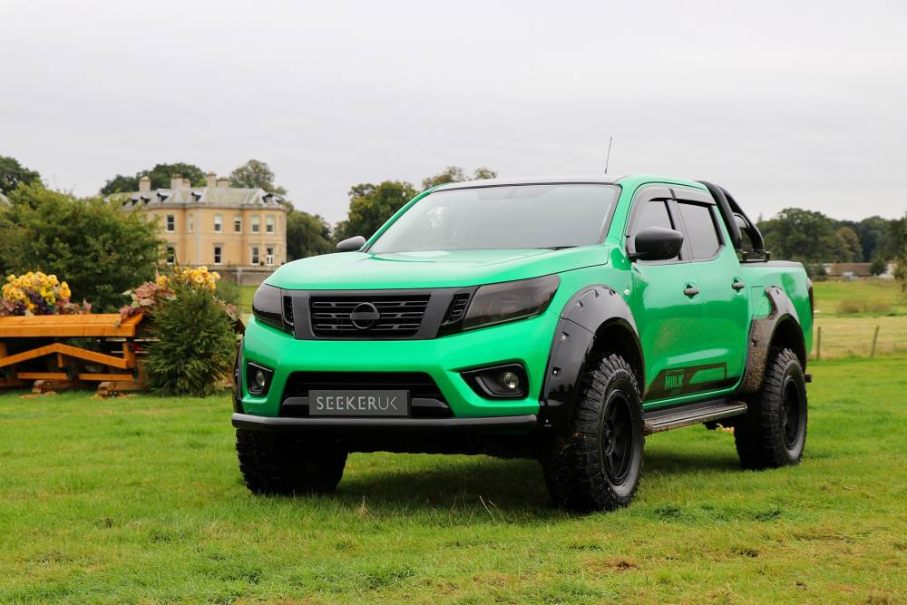 SEEKER Tungsten Hulk Edition NISSAN NAVARA CONVERSION