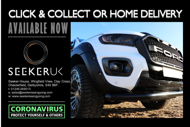 Click and Collect or Home Delivery Service from Seeker UK!