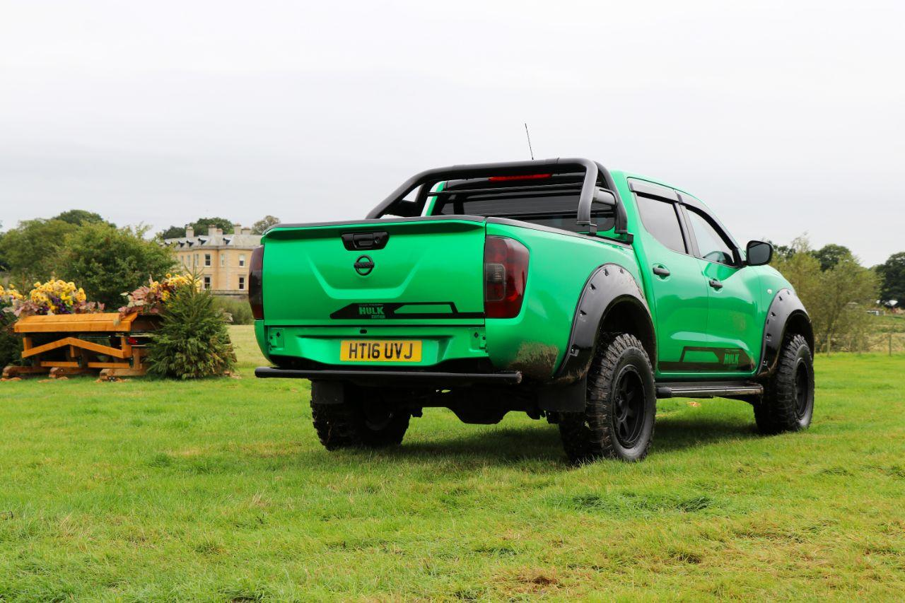 Nissan Navara 2.3 Seeker Tungsten Hulk edition Double Cab Pick Up with 6k style spend Pick Up Diesel Green Wrap